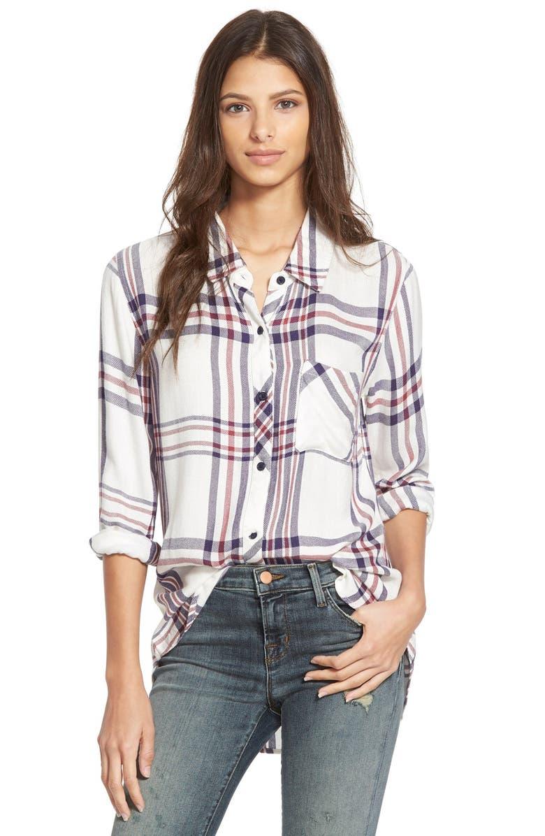 RAILS Plaid Shirt, Main, color, 113