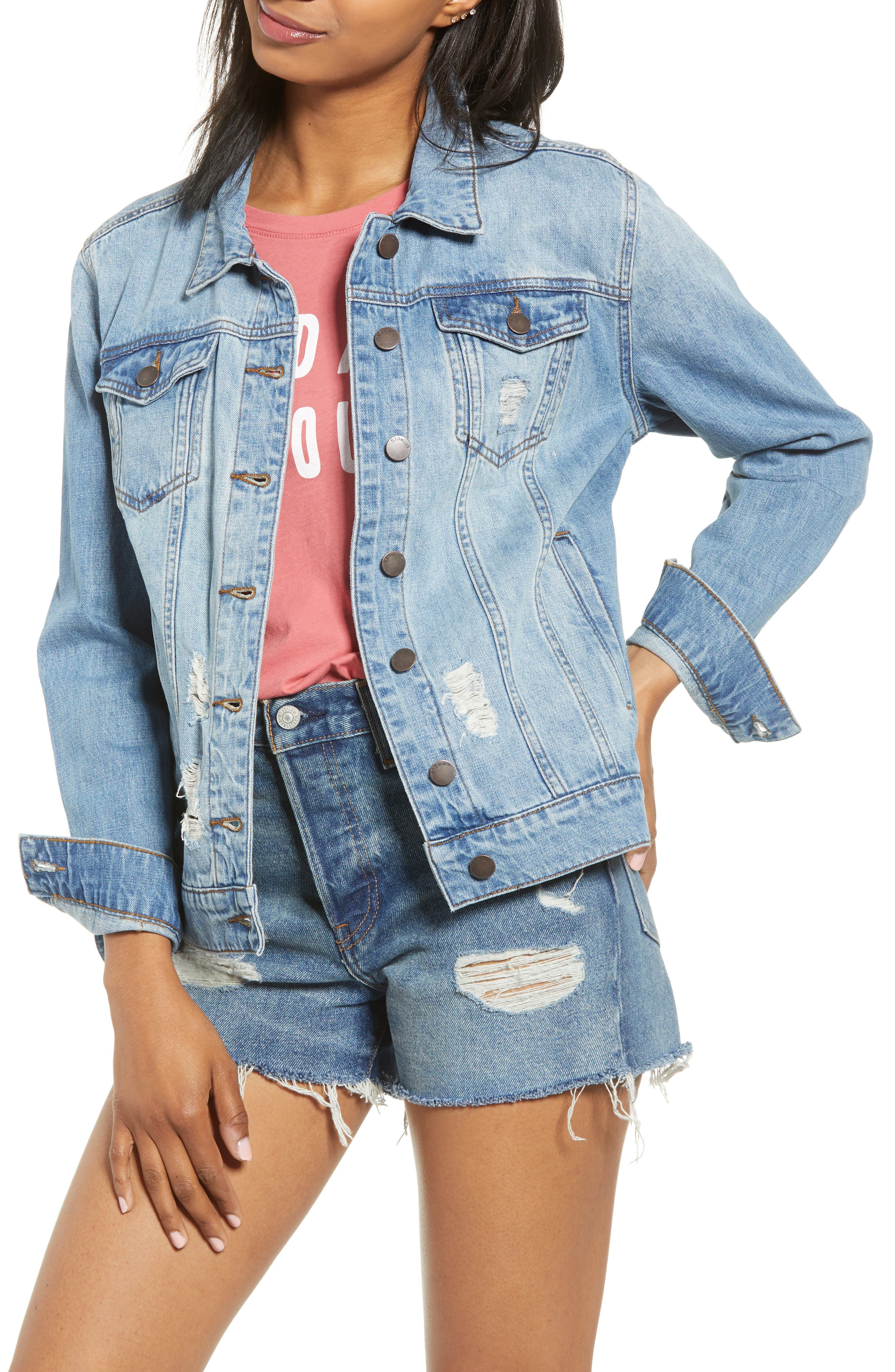 STS Blue Ella Boyfriend Denim Jacket