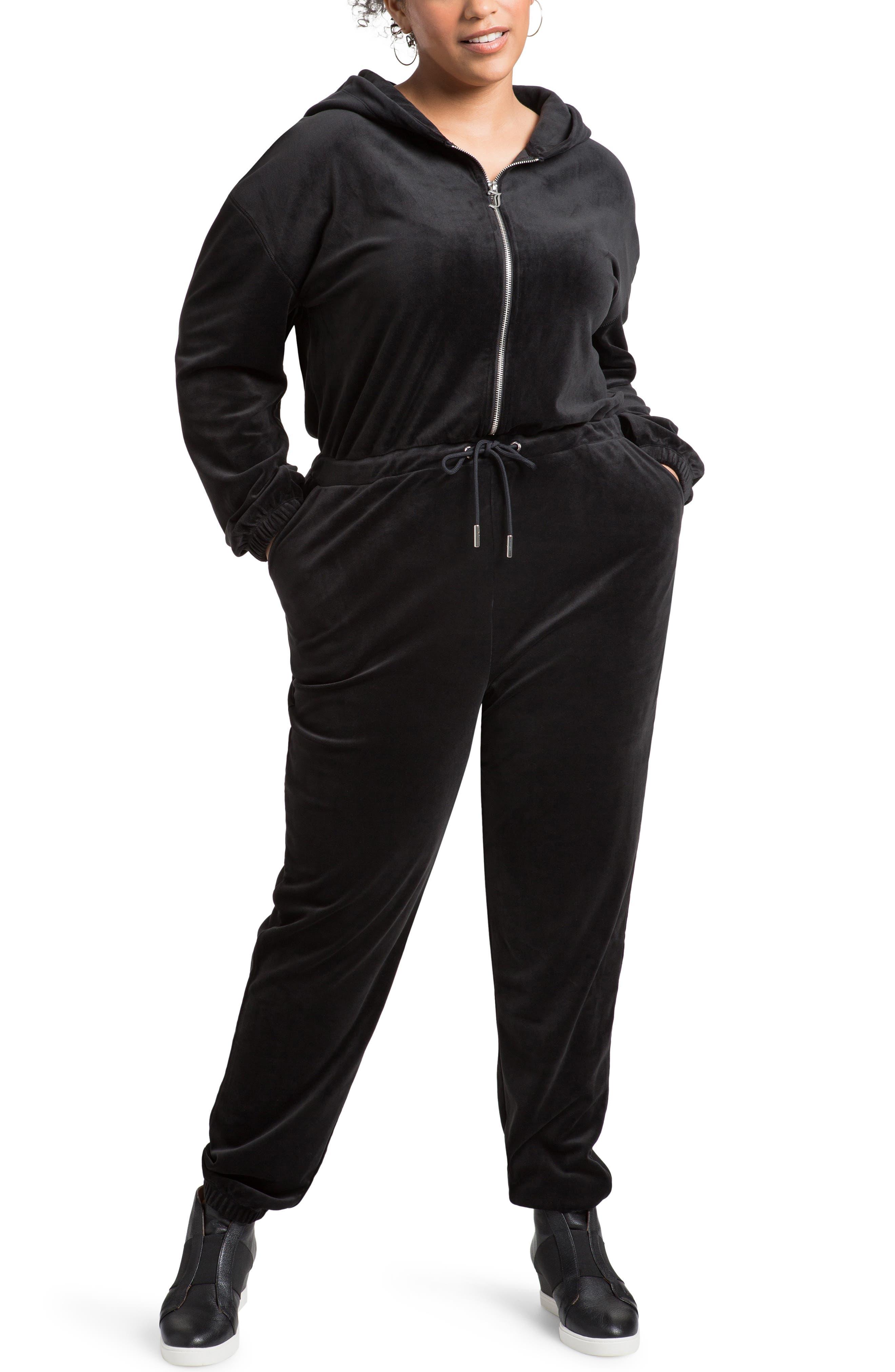 Long Sleeve Hooded Jumpsuit