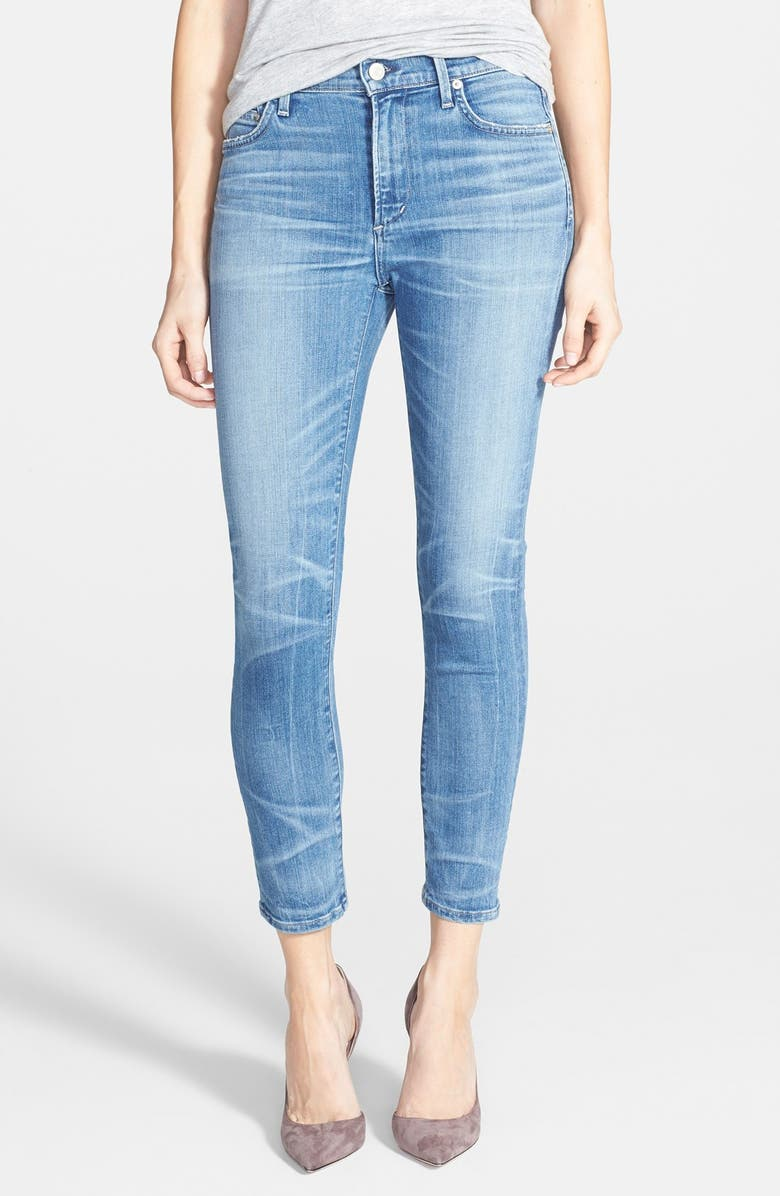 Citizens Of Humanity Rocket Crop Jeans Aura