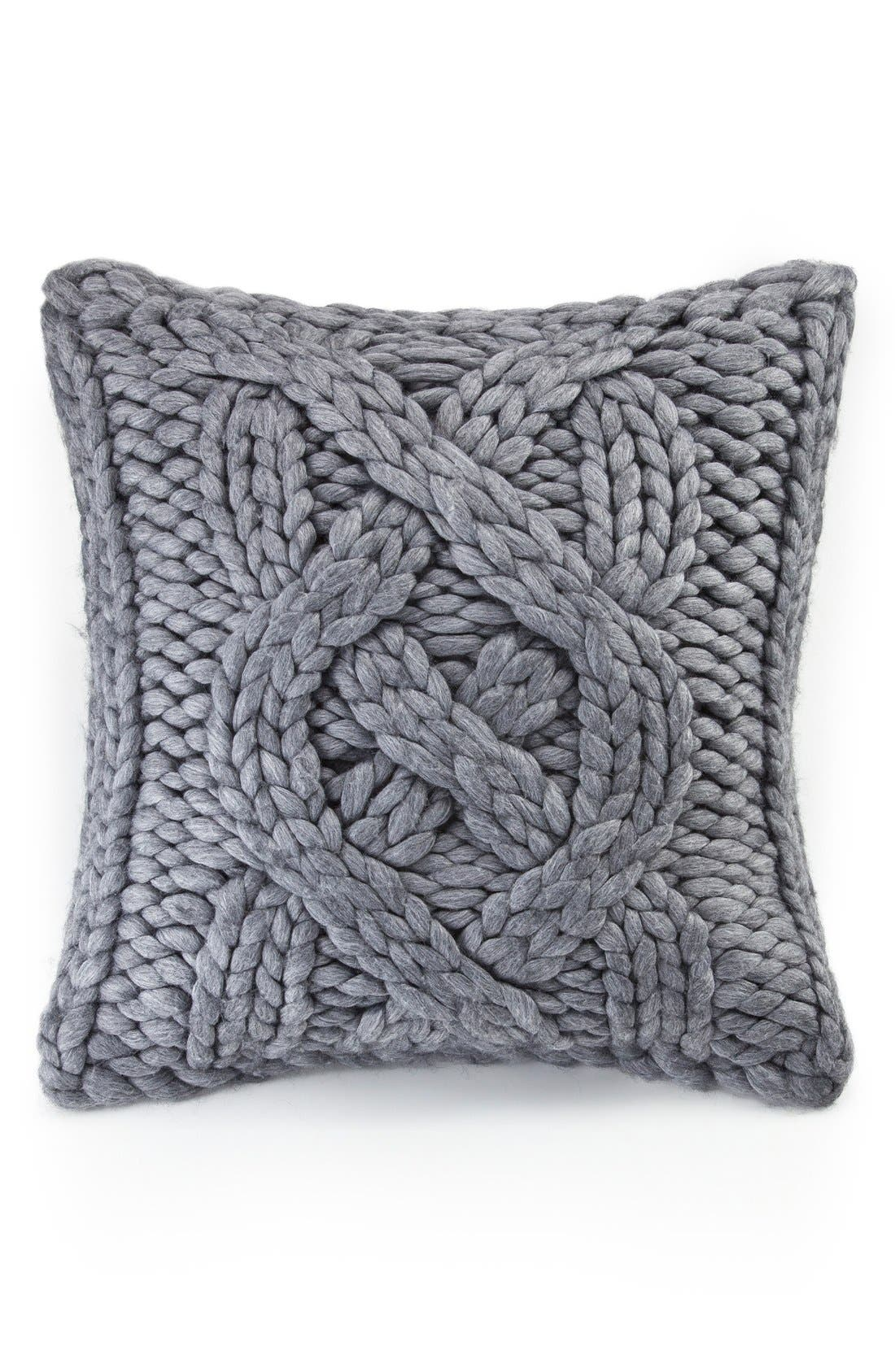 ,                             Oversize Knit Pillow,                             Alternate thumbnail 6, color,                             020
