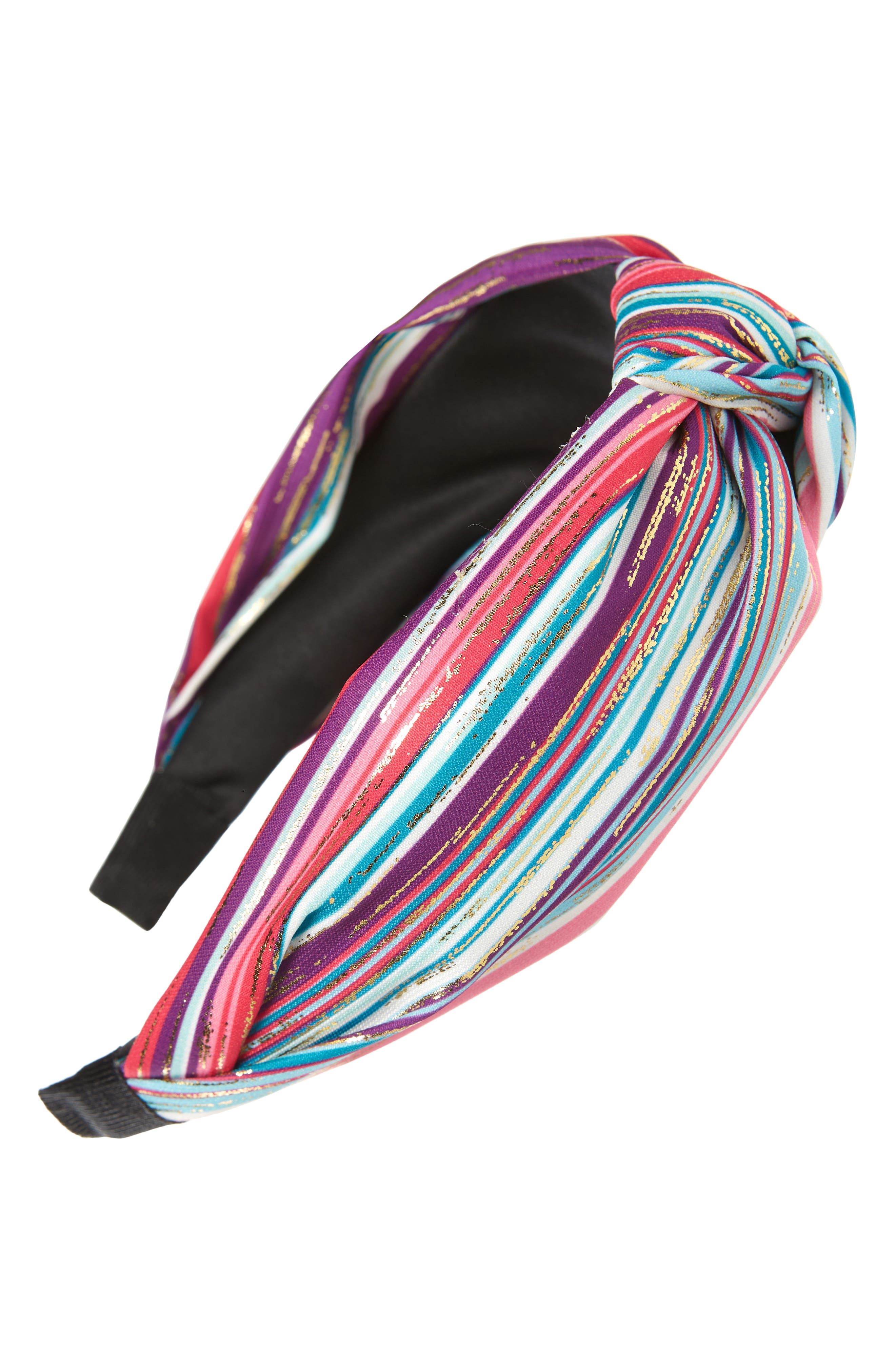 Details about  /Tasha Nordstrom Headband Flower Fabric Peach White Soft Head Kid Wrap $28 NEW