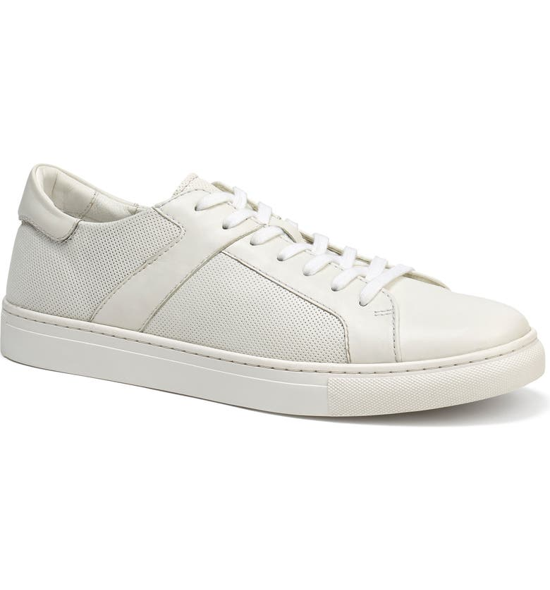 TRASK Aaron Sneaker, Main, color, WHITE/ WHITE
