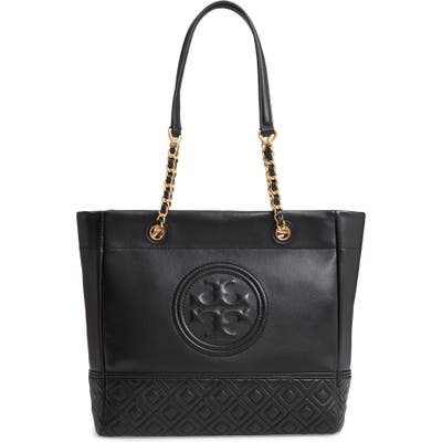 Tory Burch Fleming Leather Tote -