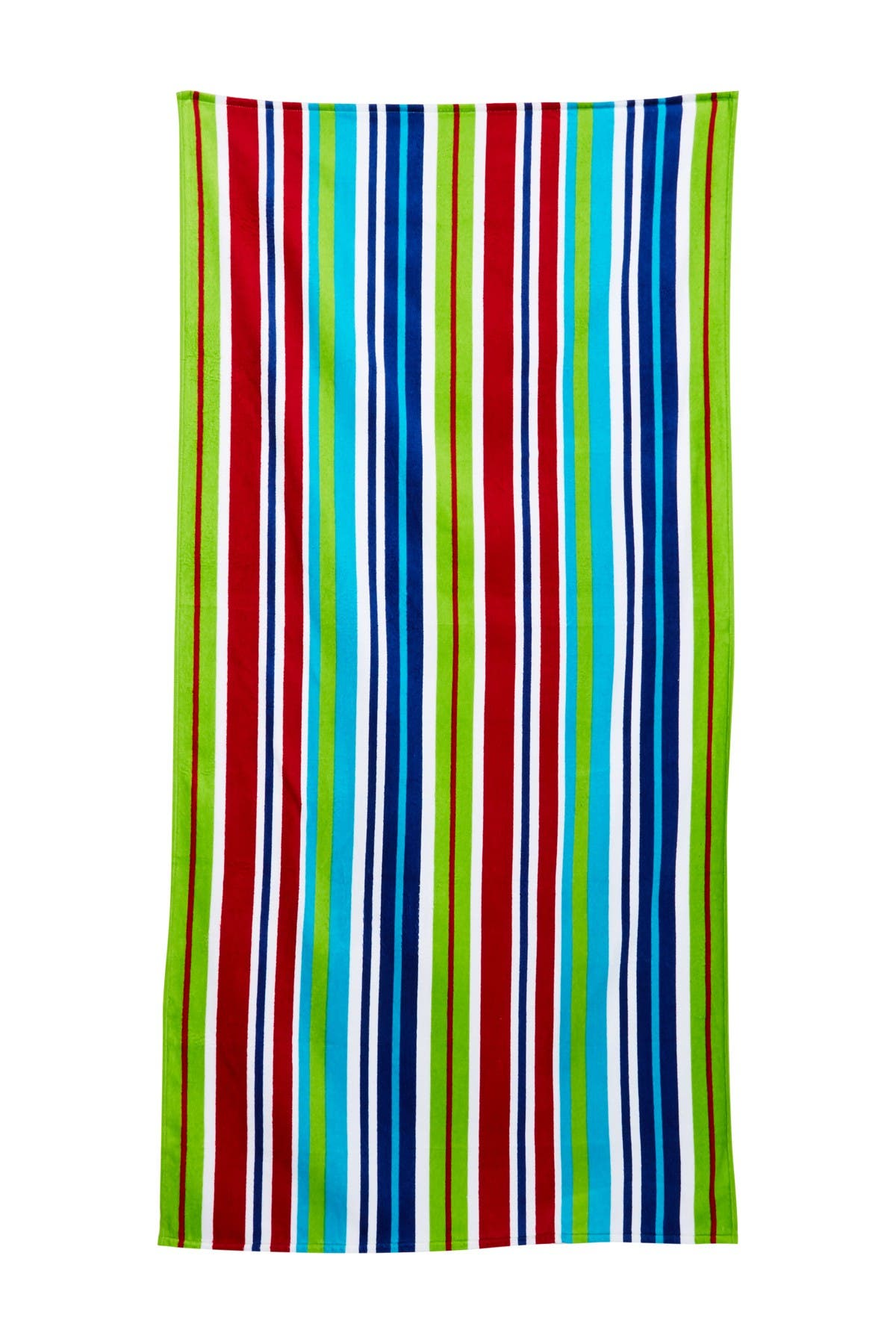 Image of Apollo Towels New Vertical Stripe Beach Towel - Multi