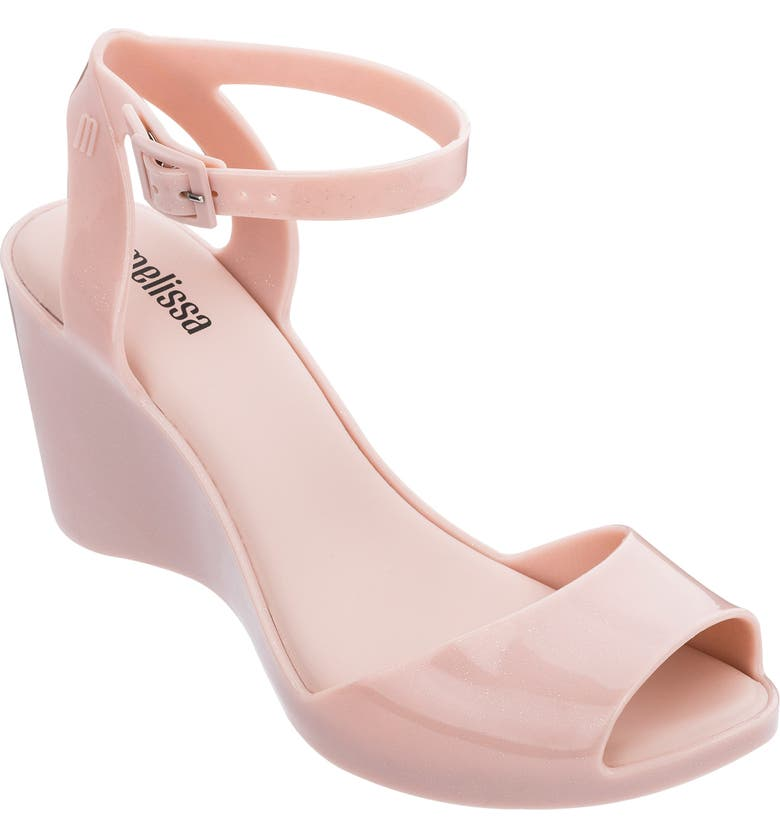 MELISSA Blanca Jelly Wedge Sandal, Main, color, 681
