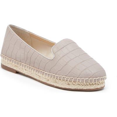 Sole Society Sammah Espadrille Loafer- Grey