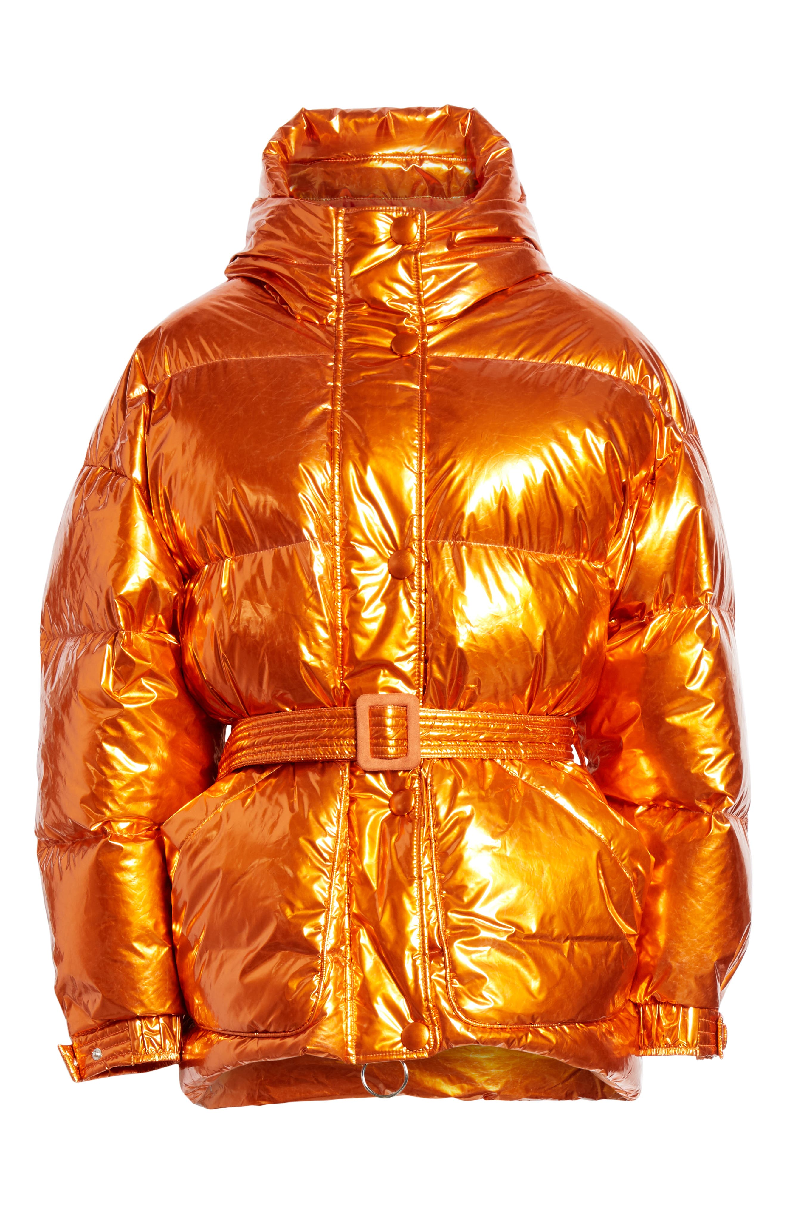 ,                             Michelin Hooded Down Puffer Coat,                             Alternate thumbnail 27, color,                             800