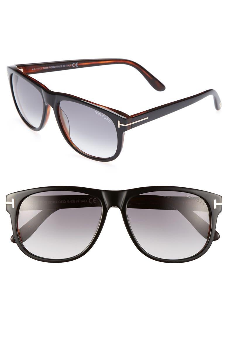 TOM FORD 'Olivier' 58mm Sunglasses, Main, color, 017
