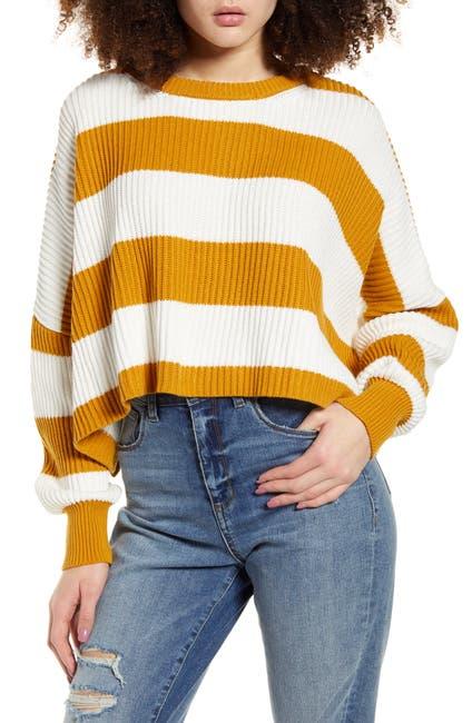 Image of LIRA CLOTHING Sahara Crop Sweater