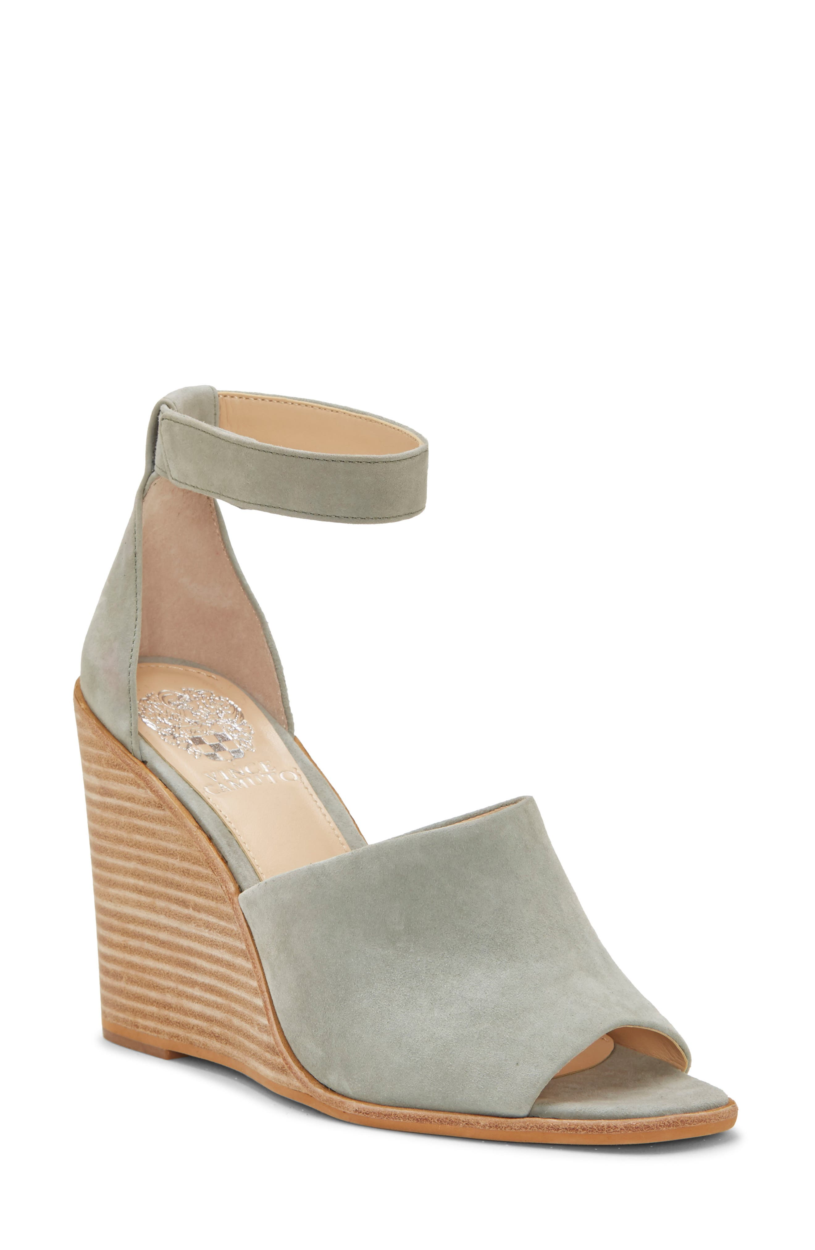 Vince Camuto Deedriana Wedge Sandal- Green