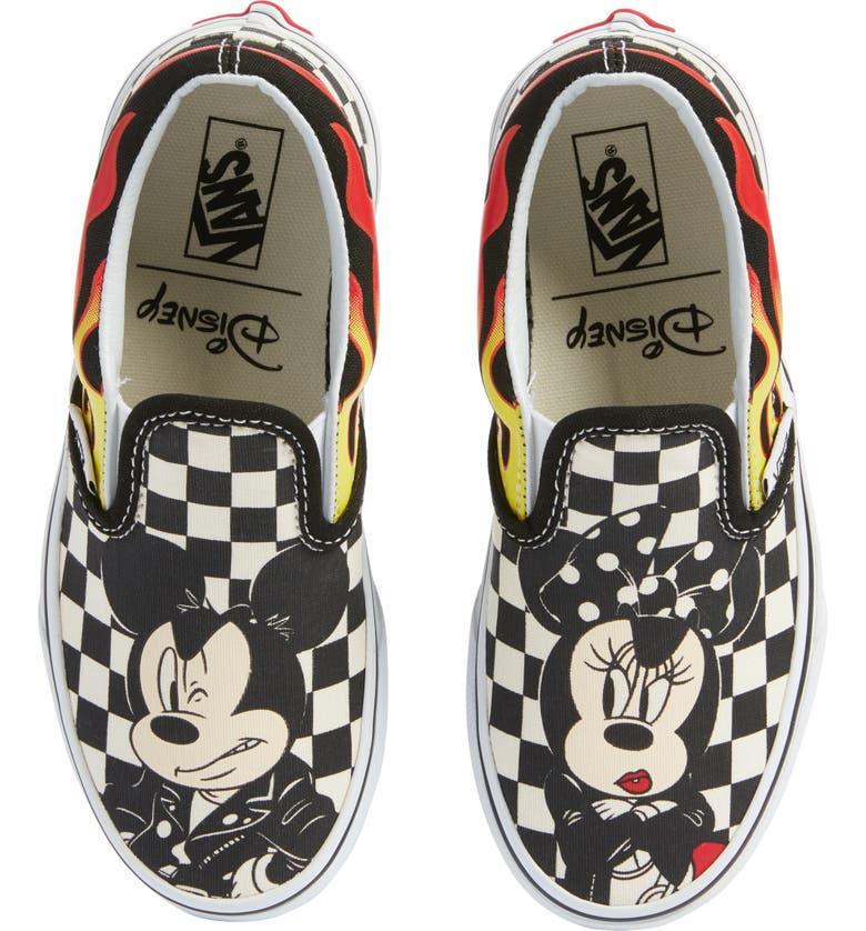 x Disney Mickey Mouse Classic Slip On Sneaker
