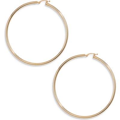 Jane Basch Designs Large Hoop Earrings