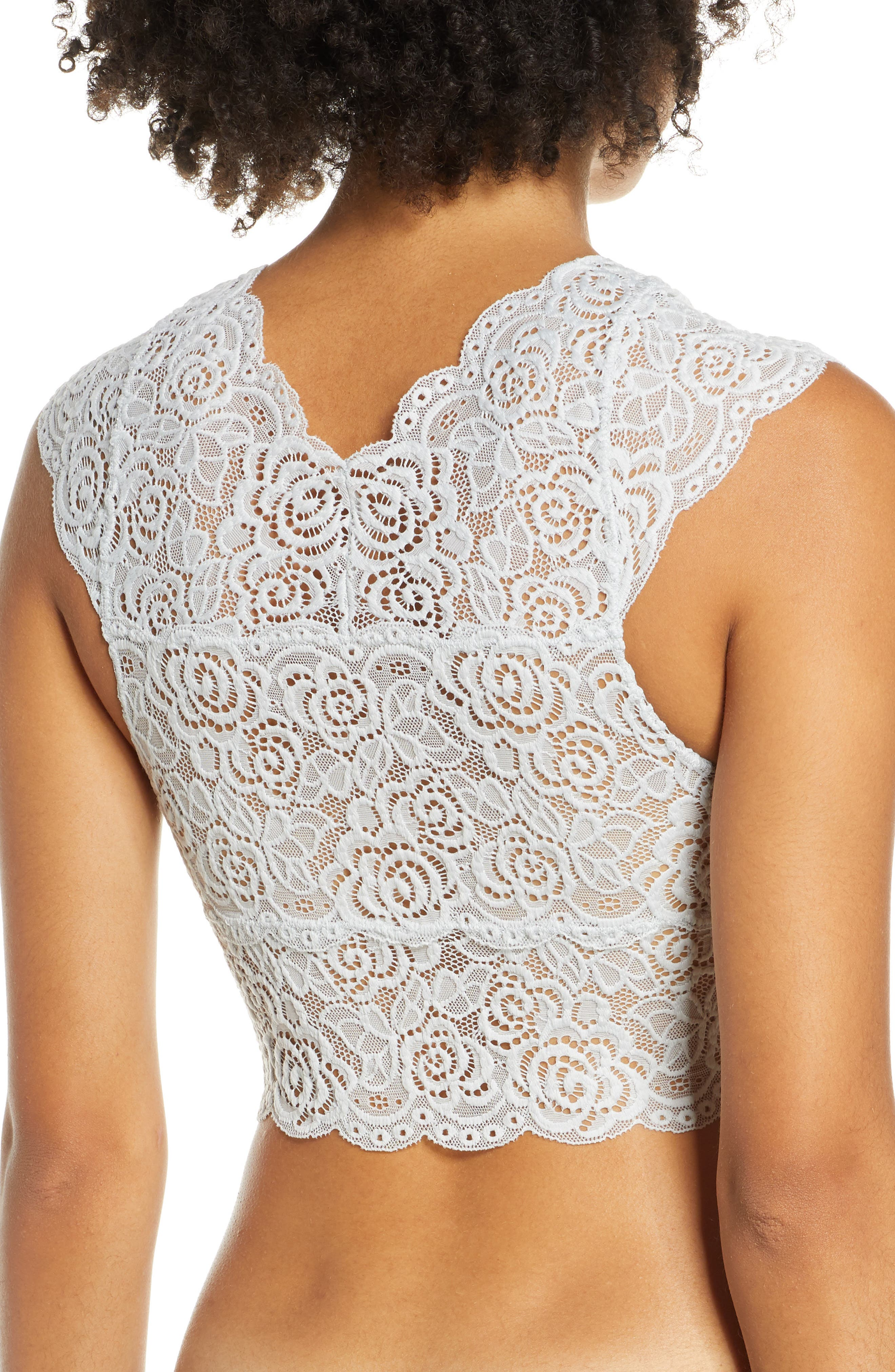 ,                             Chase Me Lace Brami Crop Top,                             Alternate thumbnail 2, color,                             SKY