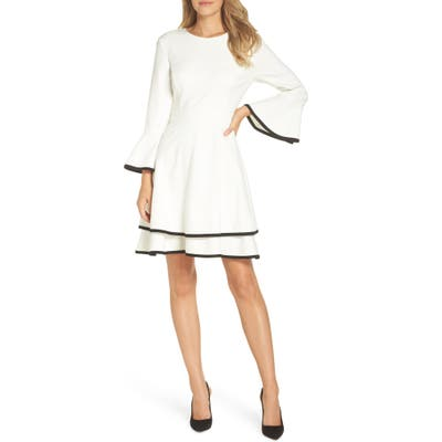 Bell Sleeve Fit And Flare