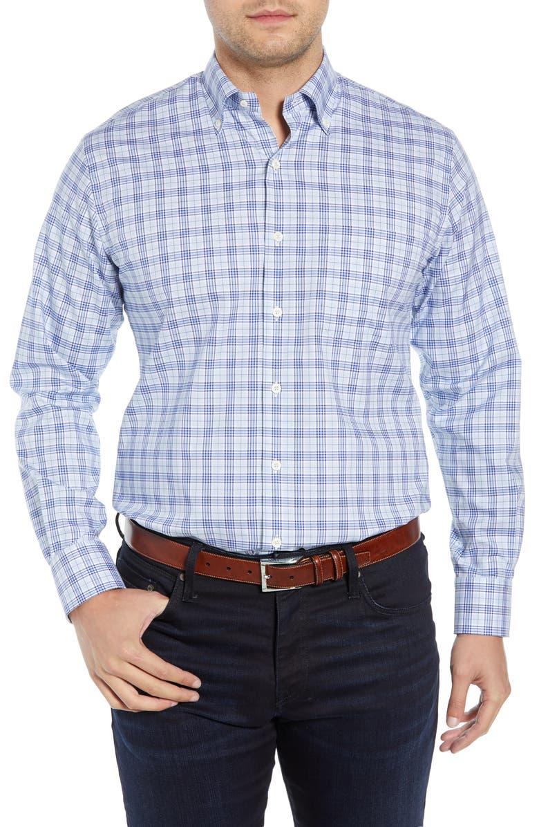 Peter Millar Triton Glen Plaid Shirt
