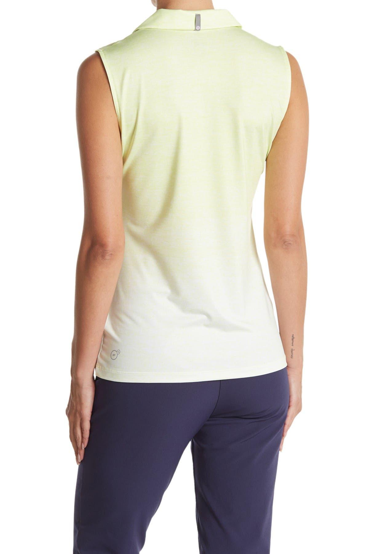 Image of PUMA Gradient Sleeveless Polo Shirt