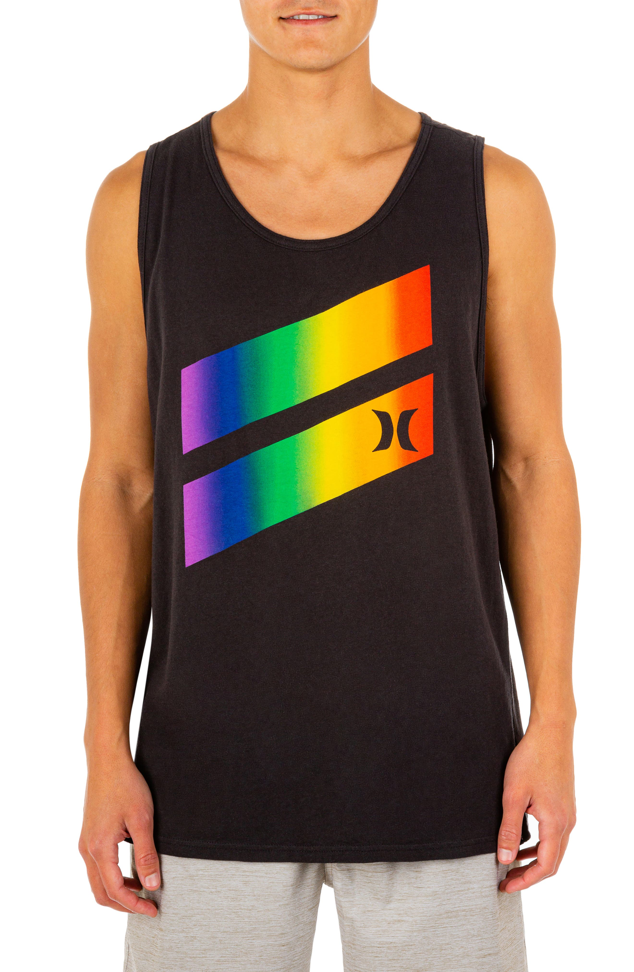 Men's Everyday Washed Pride Icon Tank