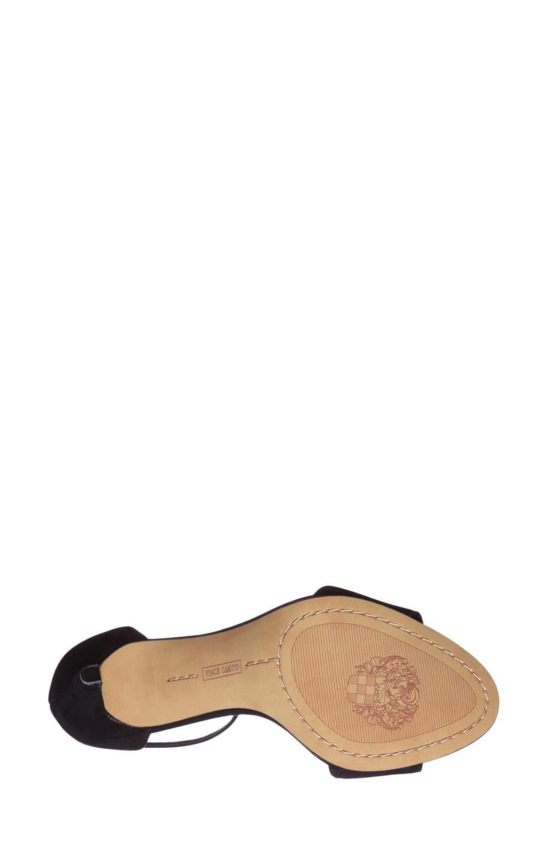 ,                             'Court' Ankle Strap Sandal,                             Alternate thumbnail 19, color,                             004