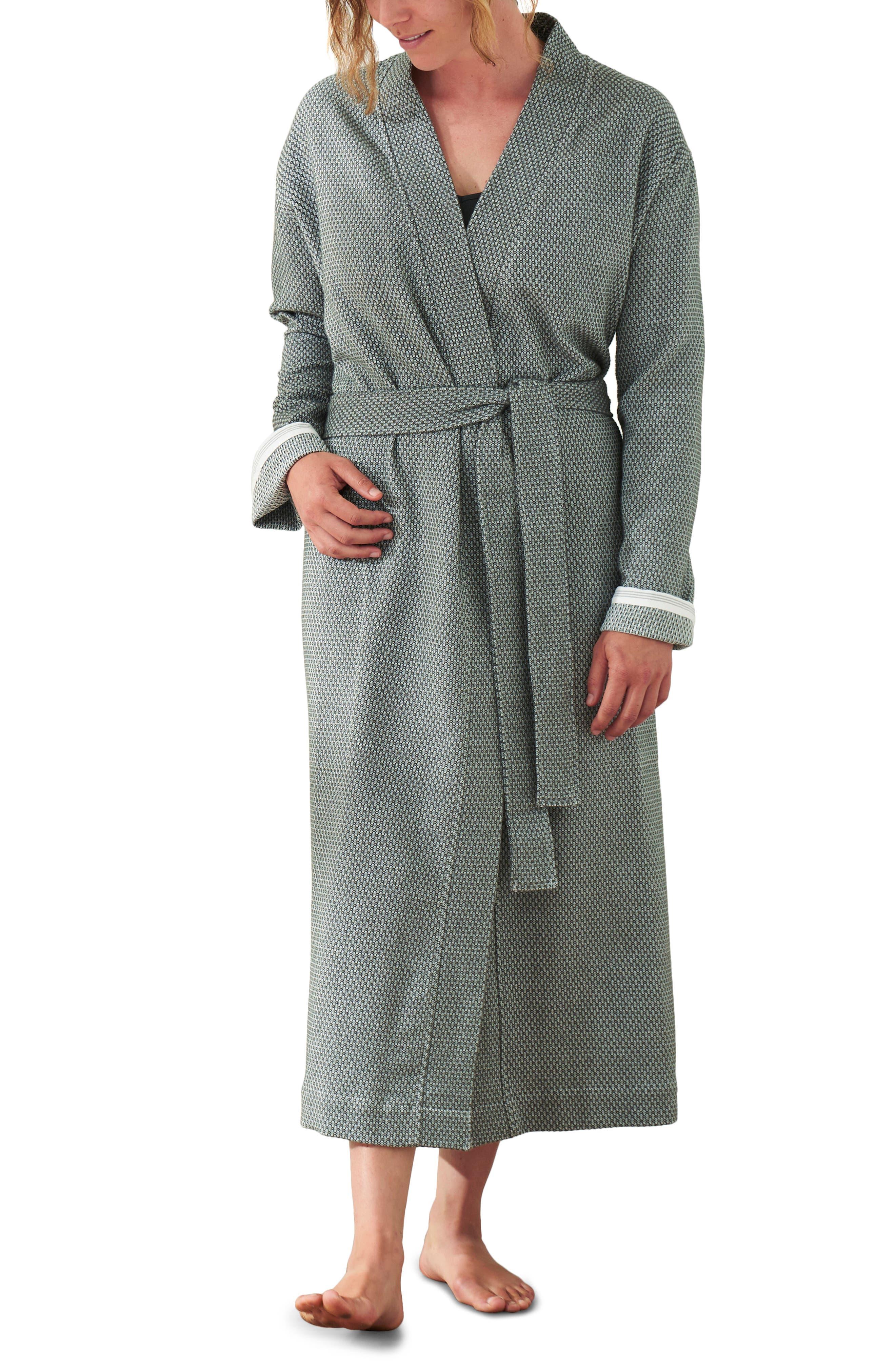 Unisex Mediterranean Organic Cotton Robe