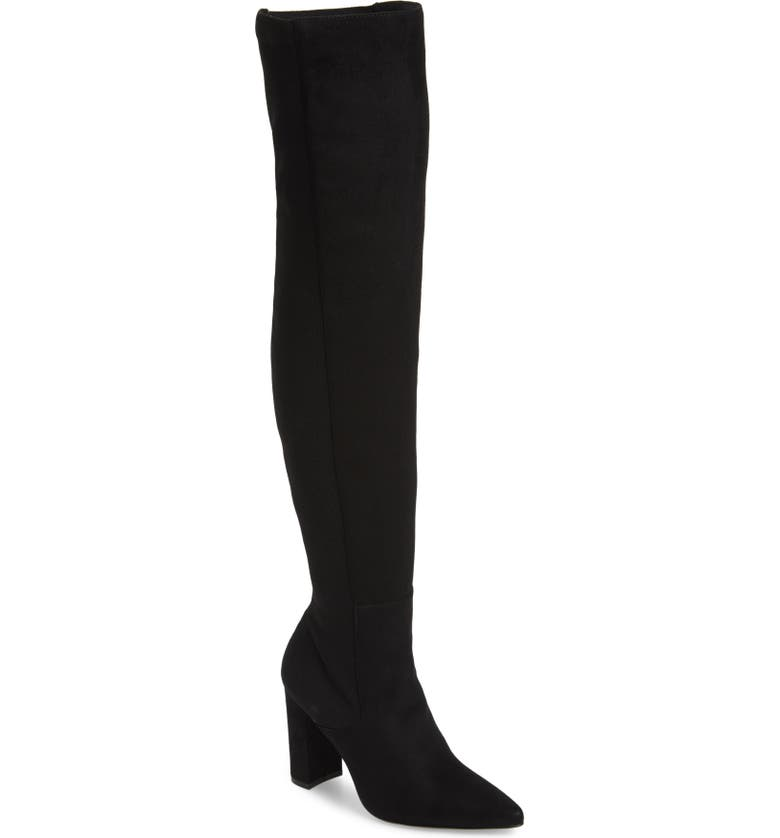 STEVE MADDEN Everly Over the Knee Boot, Main, color, 001