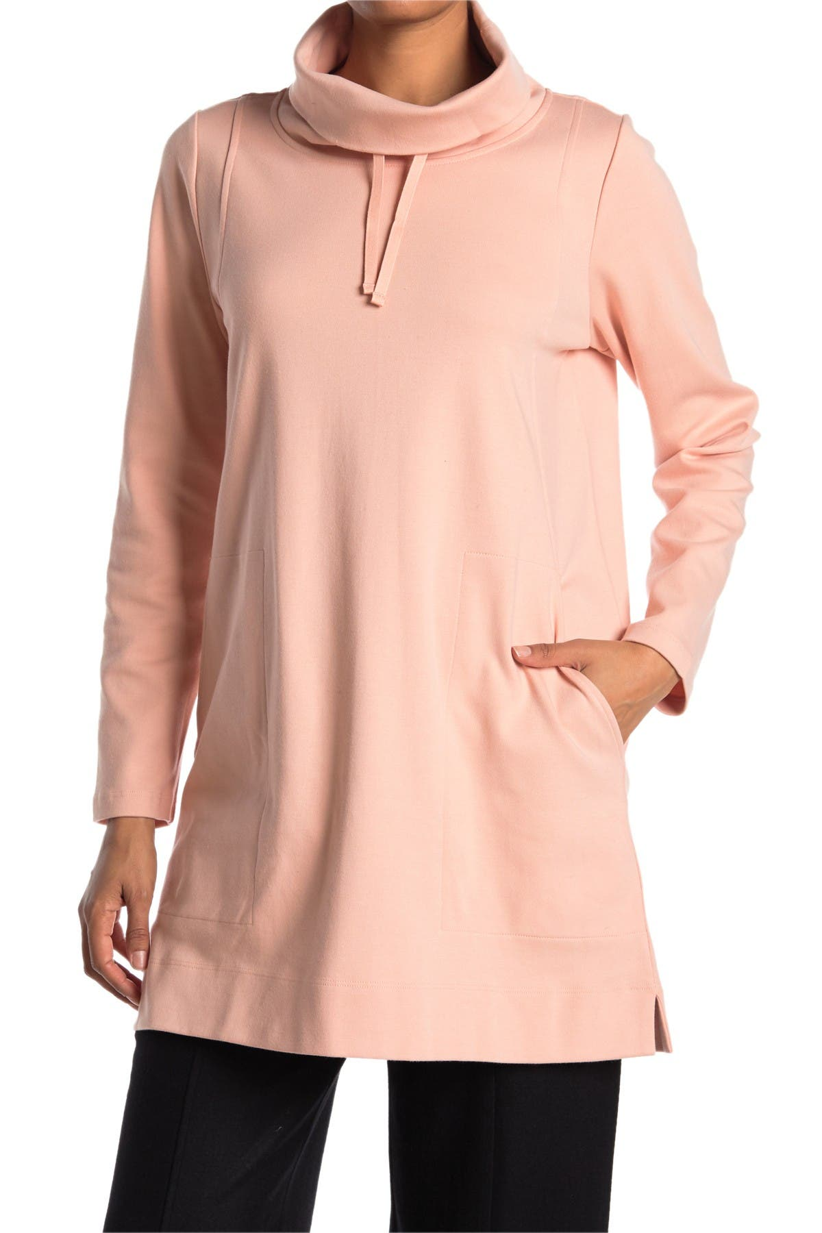 Image of Eileen Fisher Funnel Neck Tunic