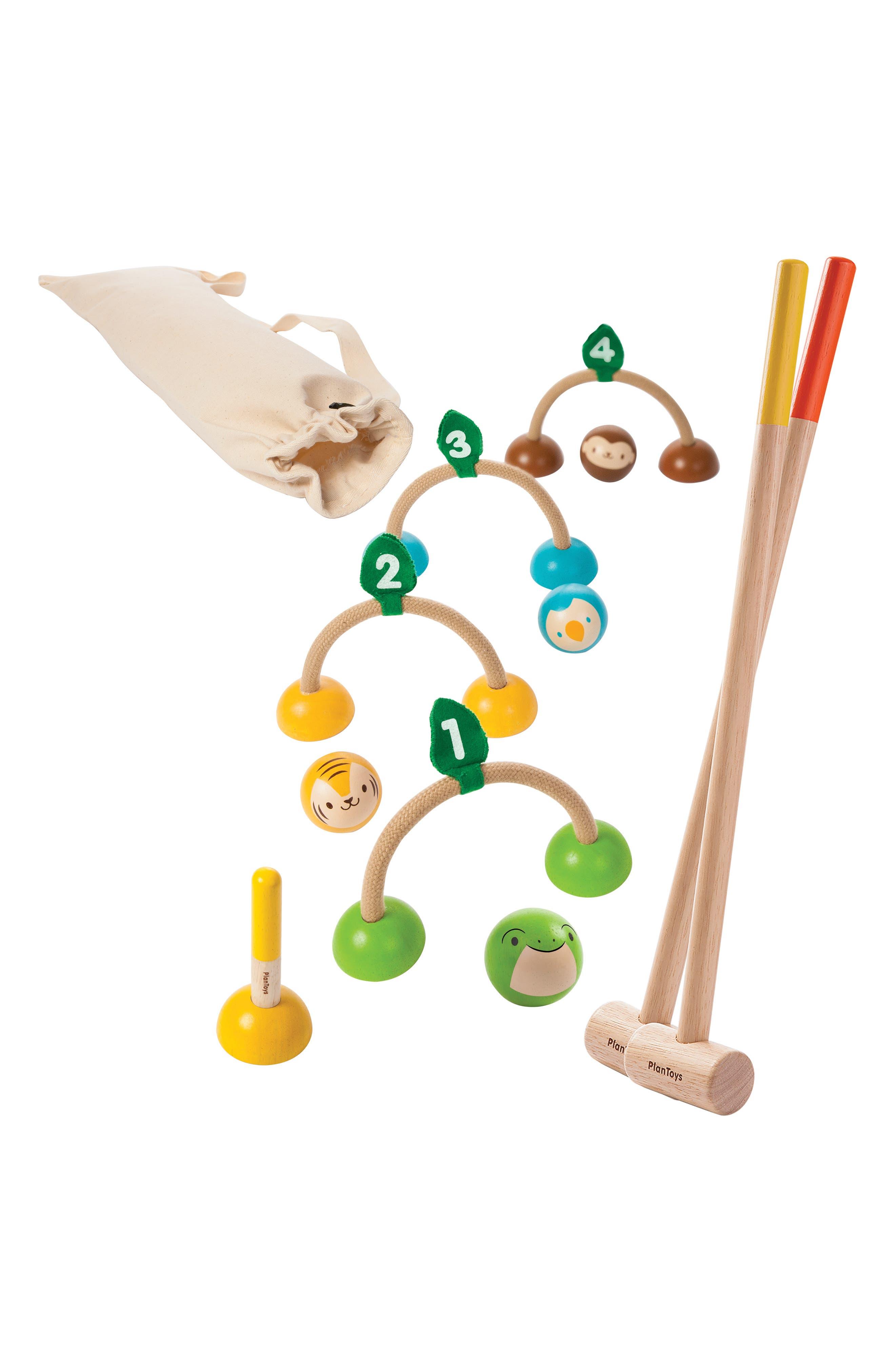 Plan Toys Croquet Set