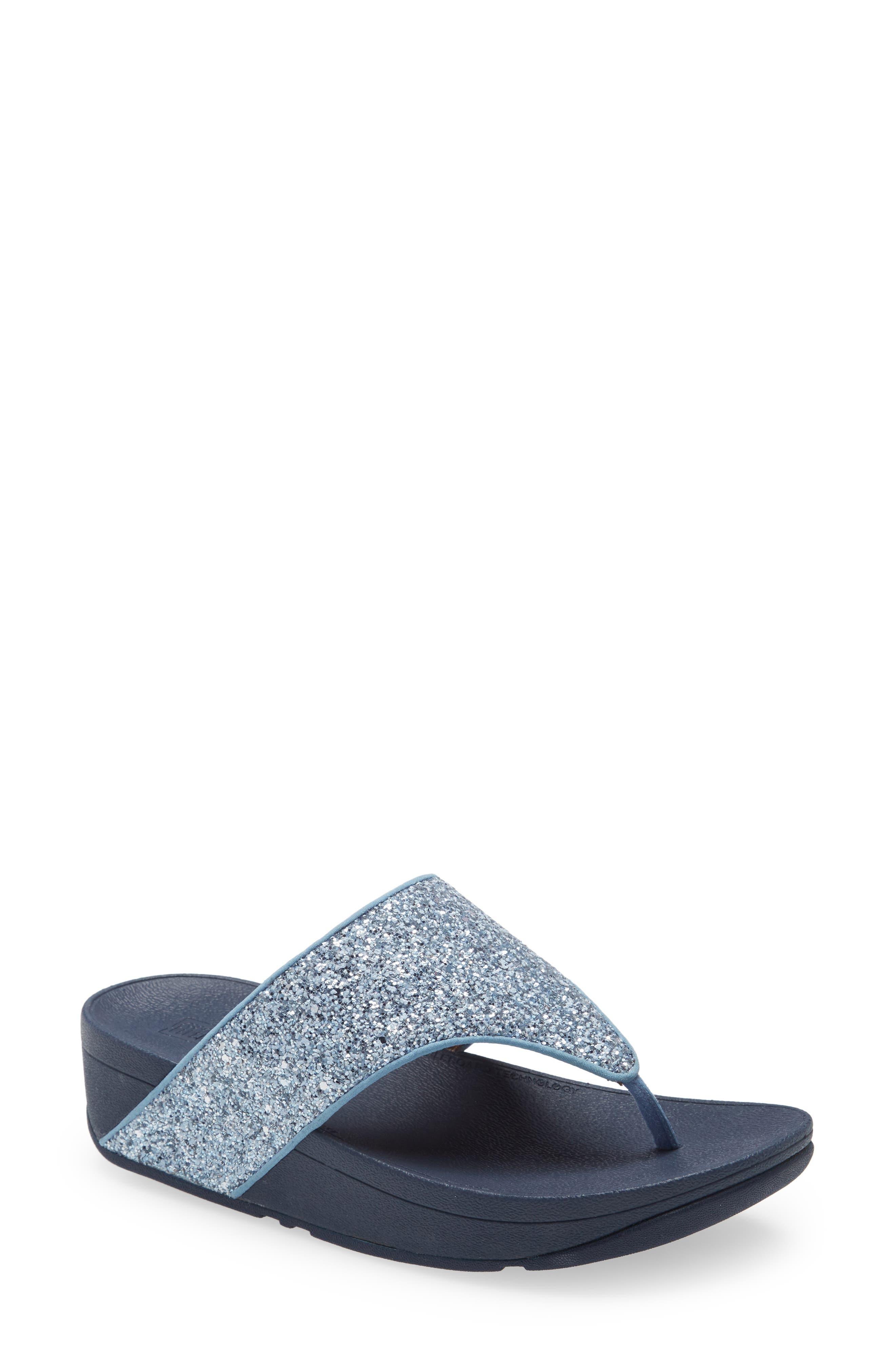 Olive Glitter Flip Flop