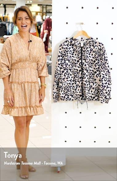 Leopard Print Windbreaker, sales video thumbnail
