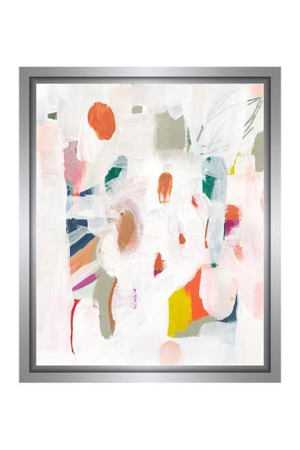 Image of PTM Images Colored Brushes I Gallery Wrapped Giclee Print