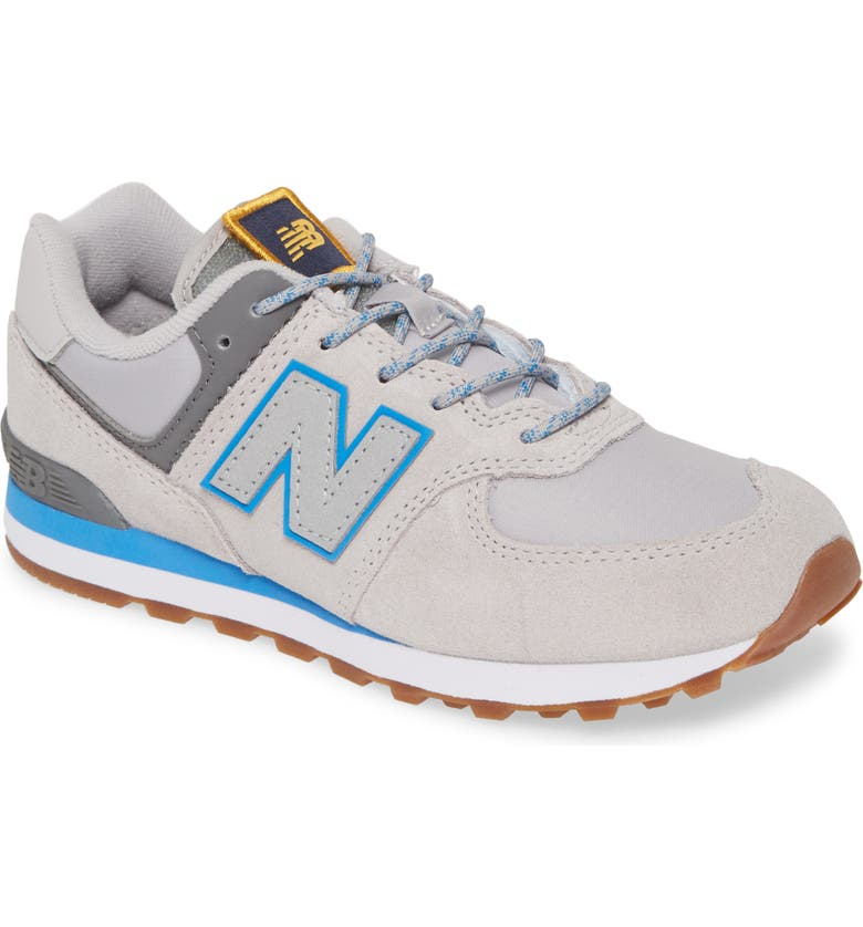 NEW BALANCE Camp 574 Sneaker, Main, color, RAINCLOUD/ LAPIS