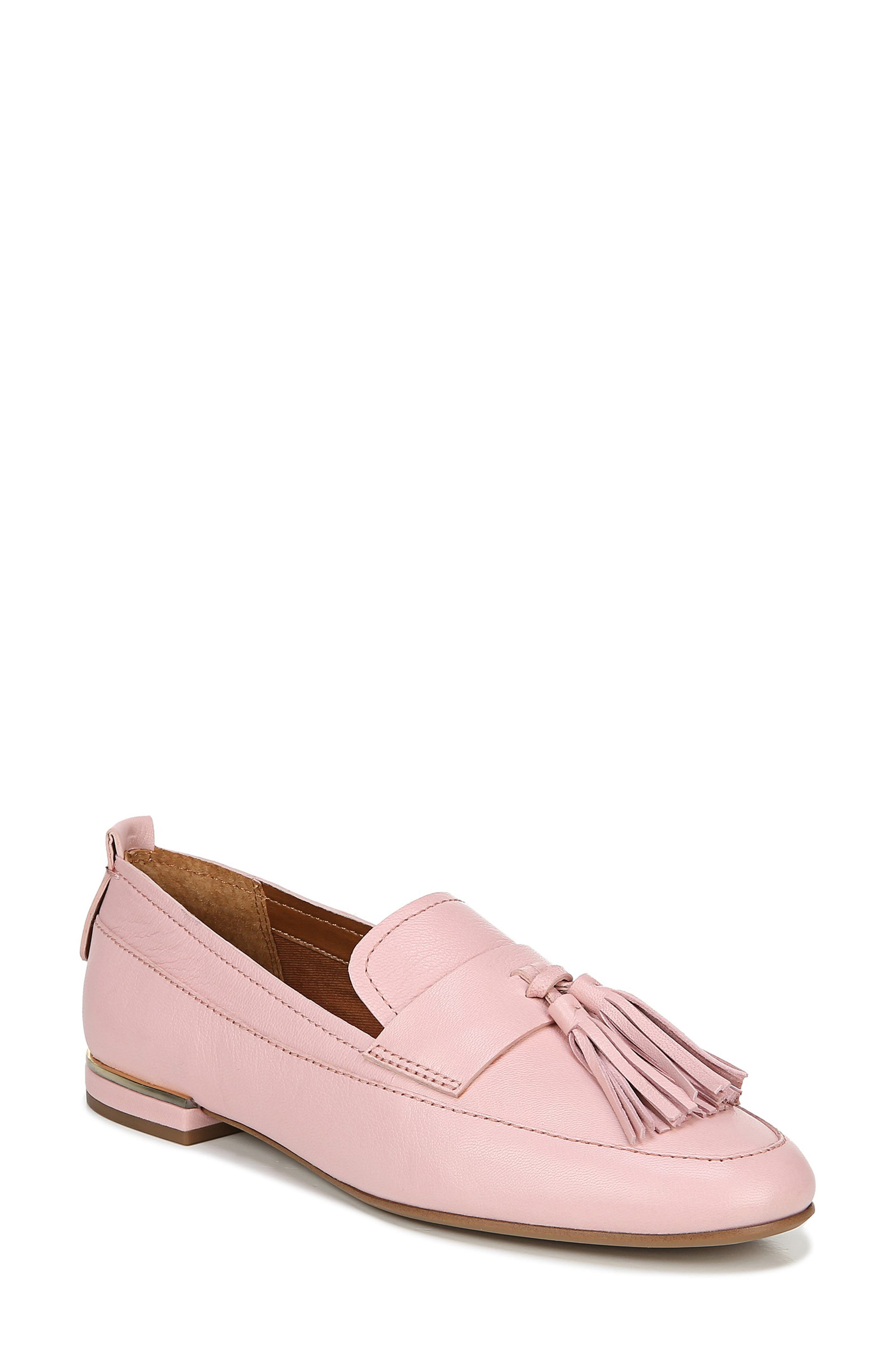 A pair of swingy tassels underscores the classic appeal of an apron-toe loafer that adds sophisticated polish to any look. Style Name: Franco Sarto Bisma Loafer (Women). Style Number: 5992431. Available in stores.