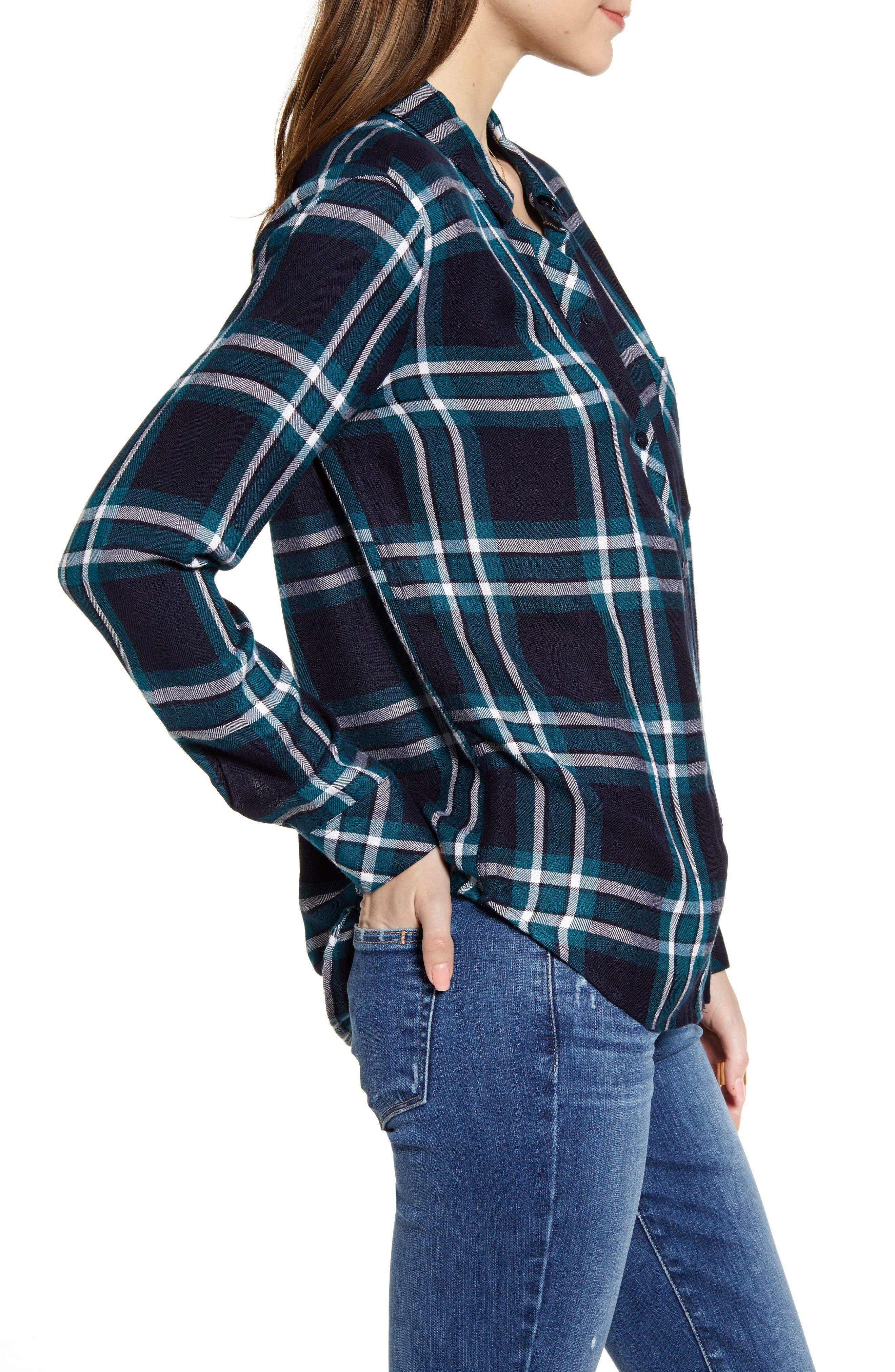 ,                             Hunter Plaid Shirt,                             Alternate thumbnail 40, color,                             423