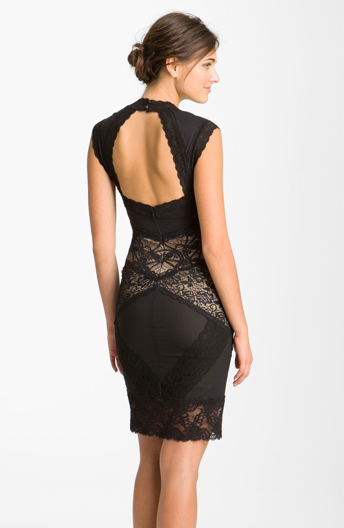 ,                             Lace Sheath Dress,                             Alternate thumbnail 2, color,                             003
