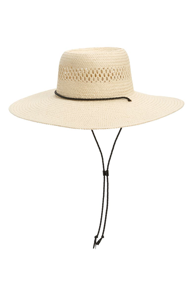 MADEWELL Stampede Straw Hat, Main, color, NATURAL STRAW