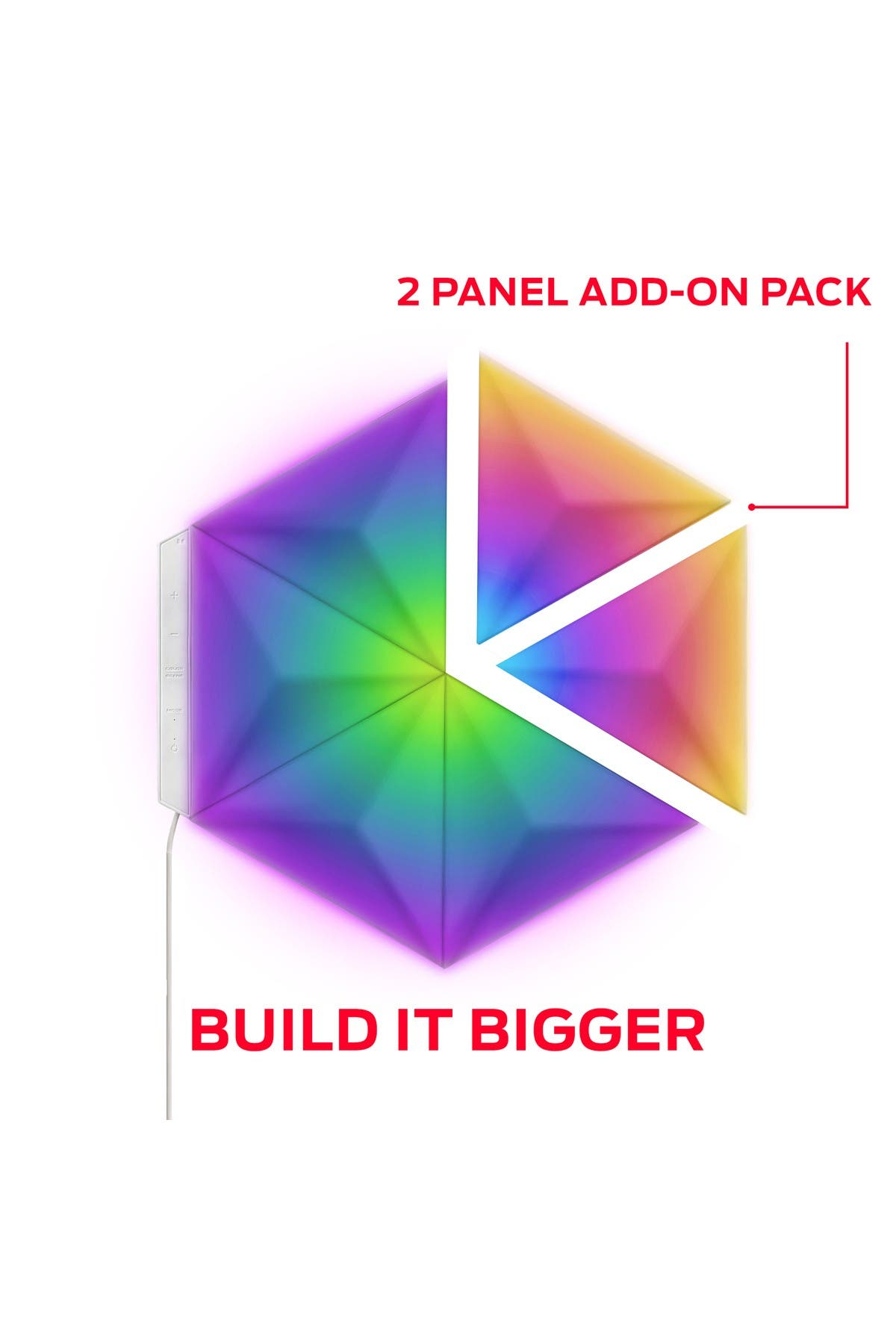 Image of Xtreme Monster Prism 3D LED Art Panels - Pack of 2