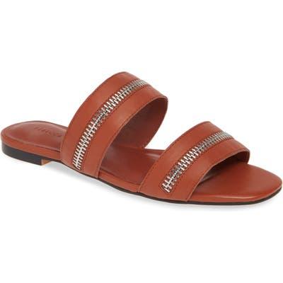 Rebecca Minkoff Marciann Slide Sandal, Brown