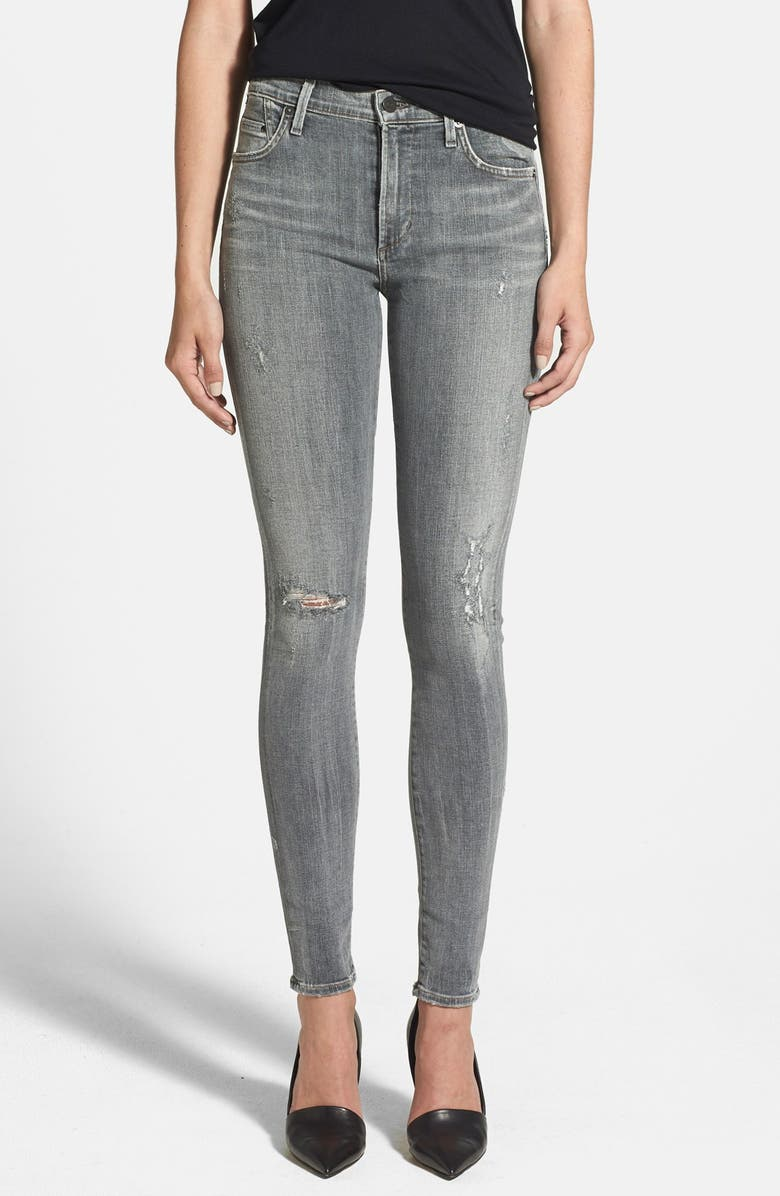 CITIZENS OF HUMANITY 'Rocket' Skinny Jeans, Main, color, 065