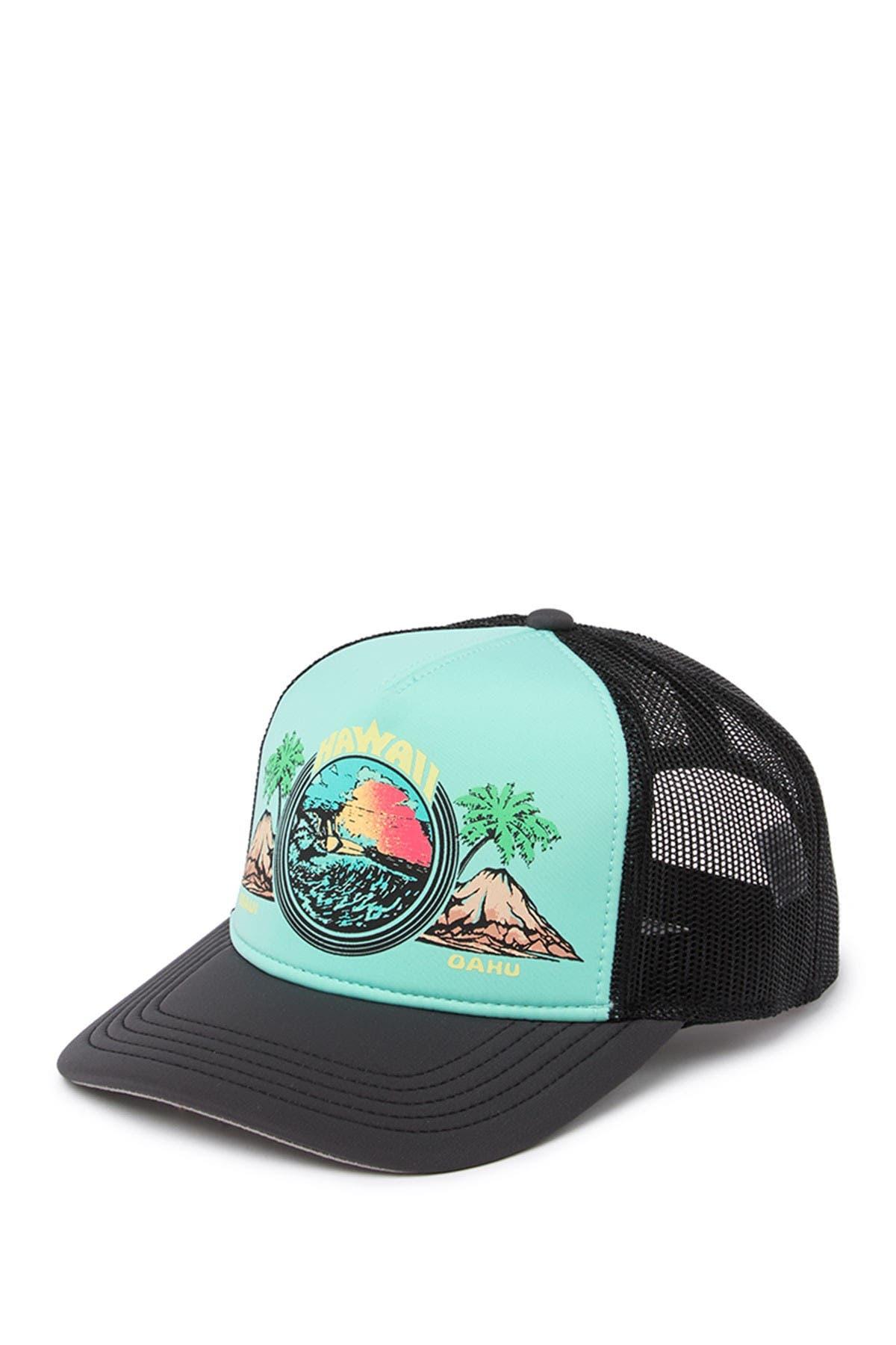 Image of American Needle Hawaiian Riptide Trucker Hat