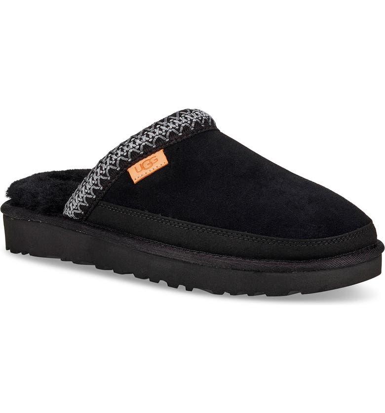 UGG<SUP>®</SUP> Tasman Slipper, Main, color, BLACK