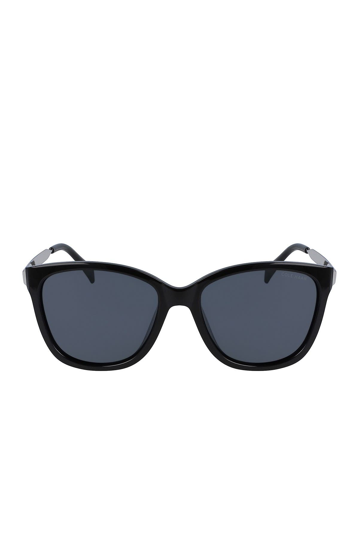 Image of Cole Haan 57mm Sleek Square Sunglasses