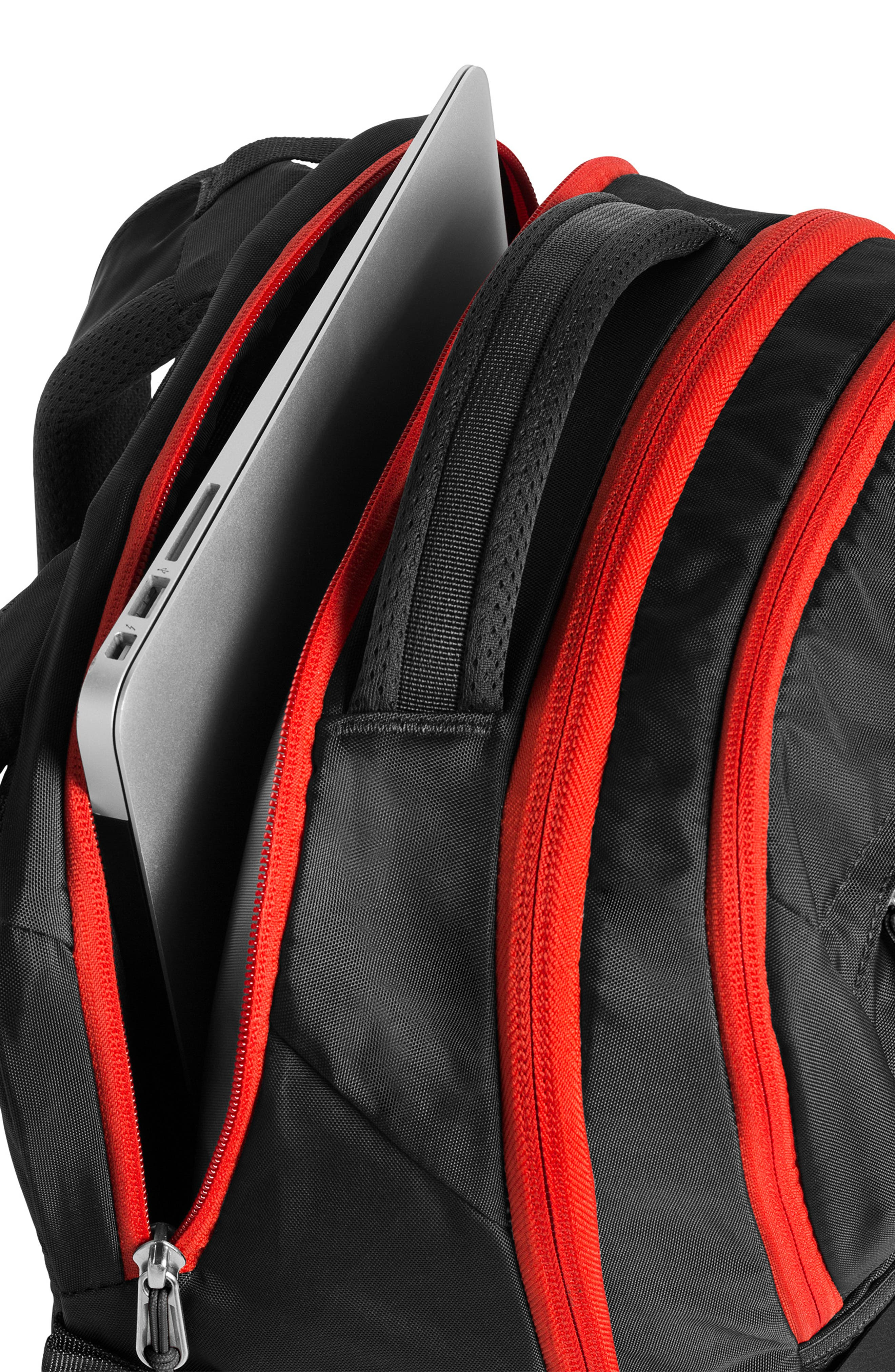 ,                             Recon Backpack,                             Alternate thumbnail 8, color,                             ASPHALT GREY / FIERY RED