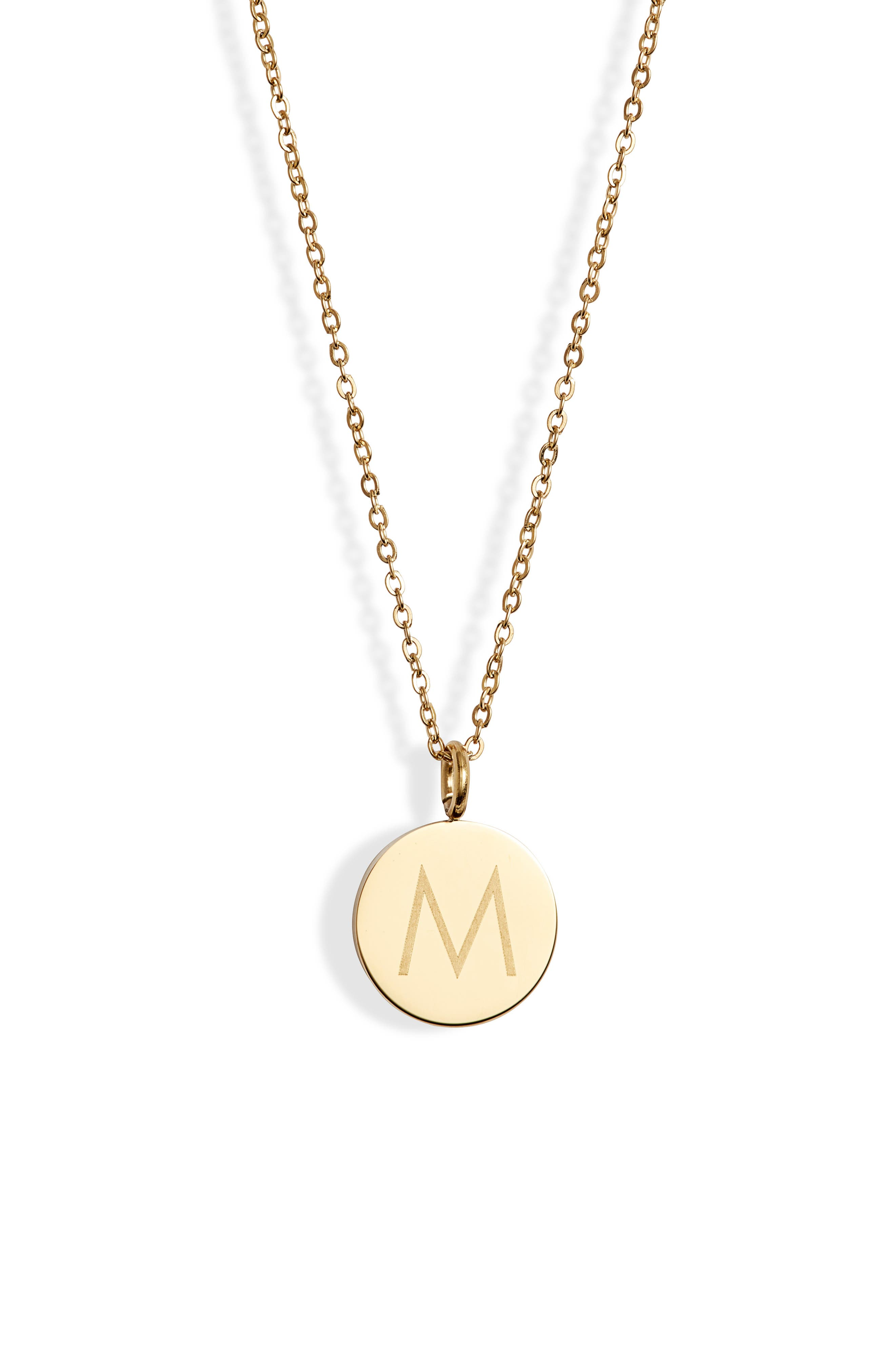 Initial Charmy Necklace