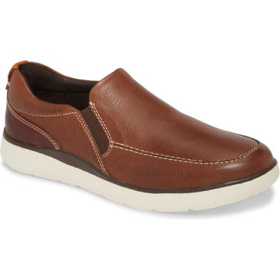Johnston & Murphy Farley Slip-On- Brown