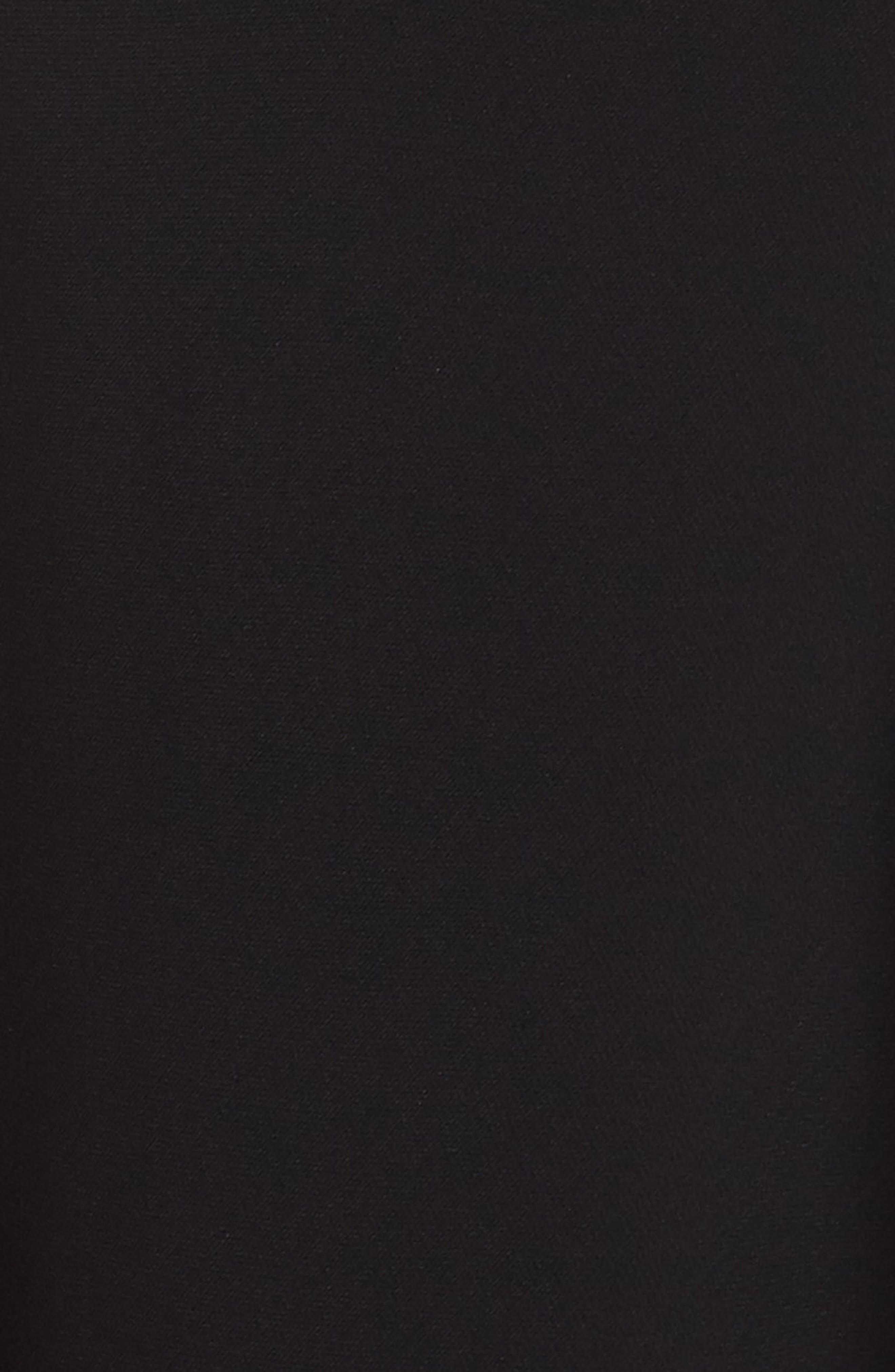 ,                             Bessie Crepe Jumpsuit,                             Alternate thumbnail 6, color,                             BLACK