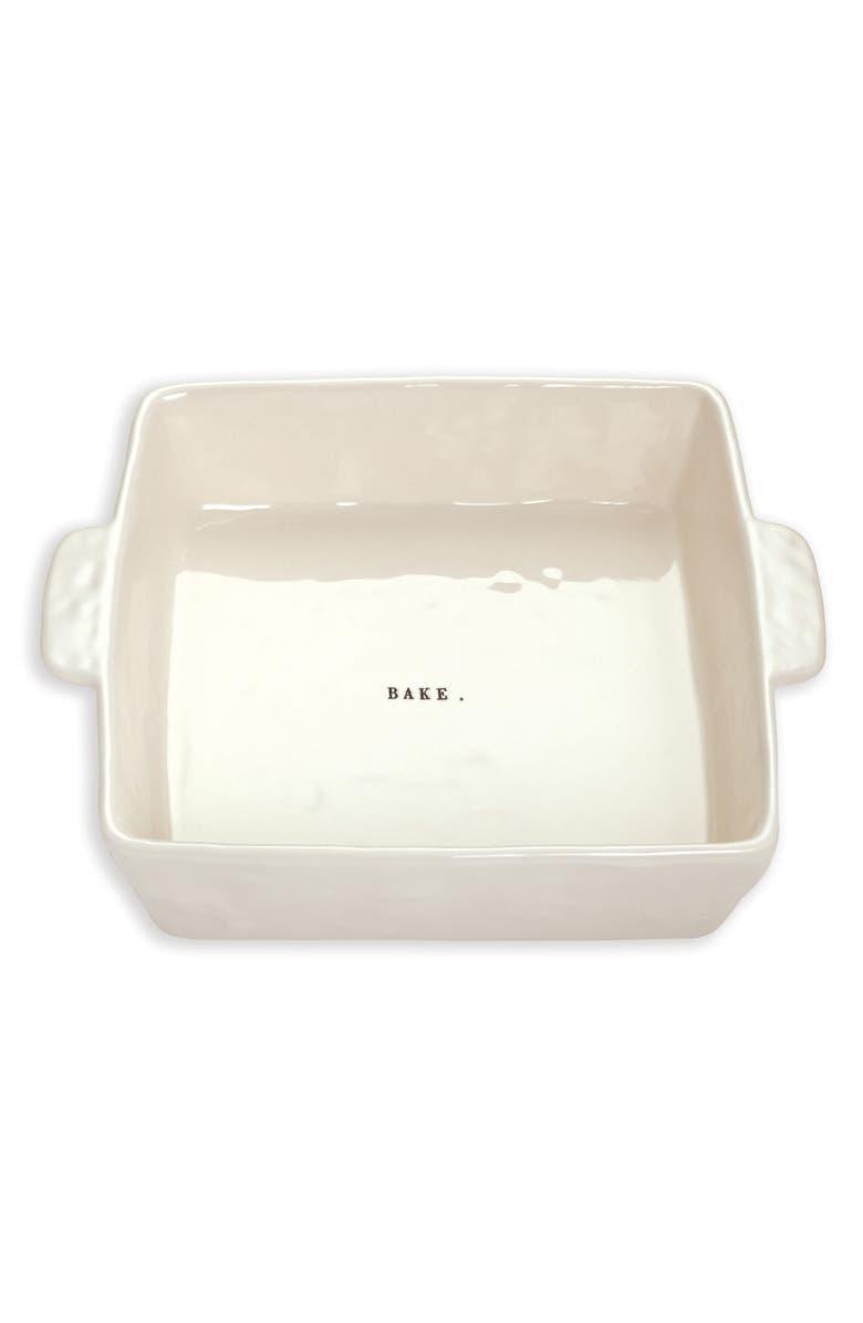 RAE DUNN Ceramic Bake Dish, Main, color, 100