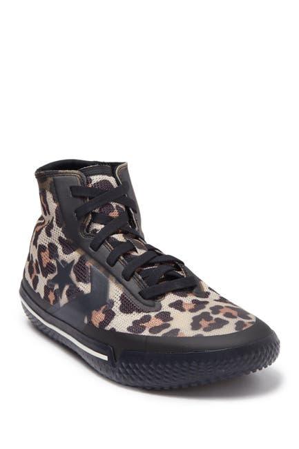 Image of Converse All Star Pro BB Leopard Hi Top Sneaker