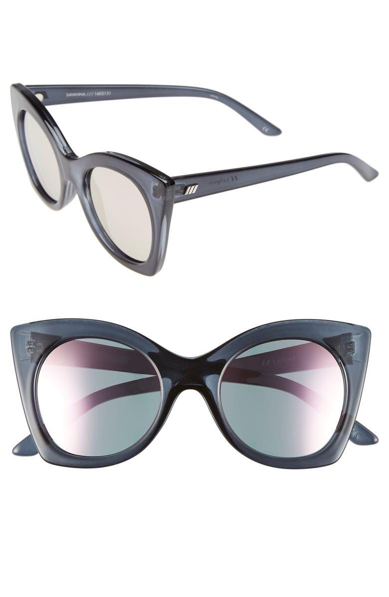 LE SPECS 'Savanna' 51mm Sunglasses, Main, color, 010