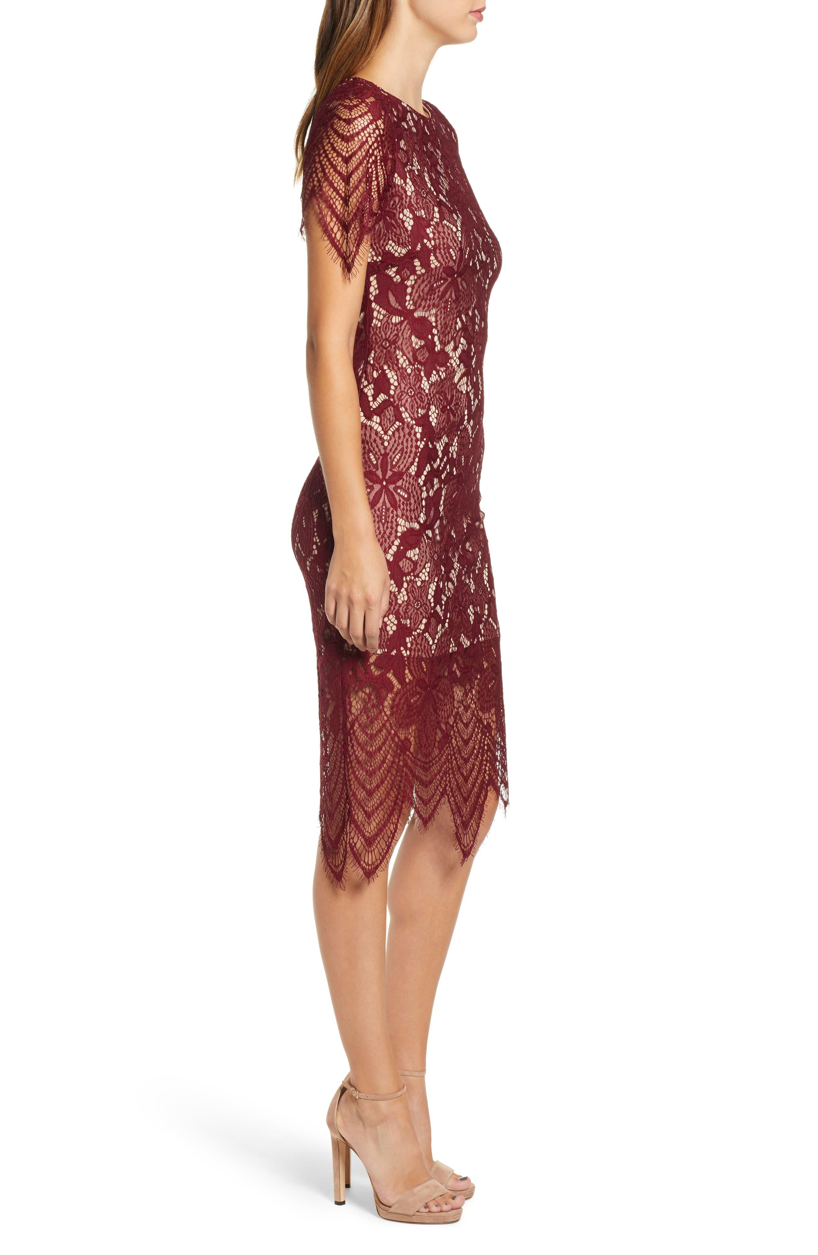 ,                             Scallop Lace Dress,                             Alternate thumbnail 11, color,                             930