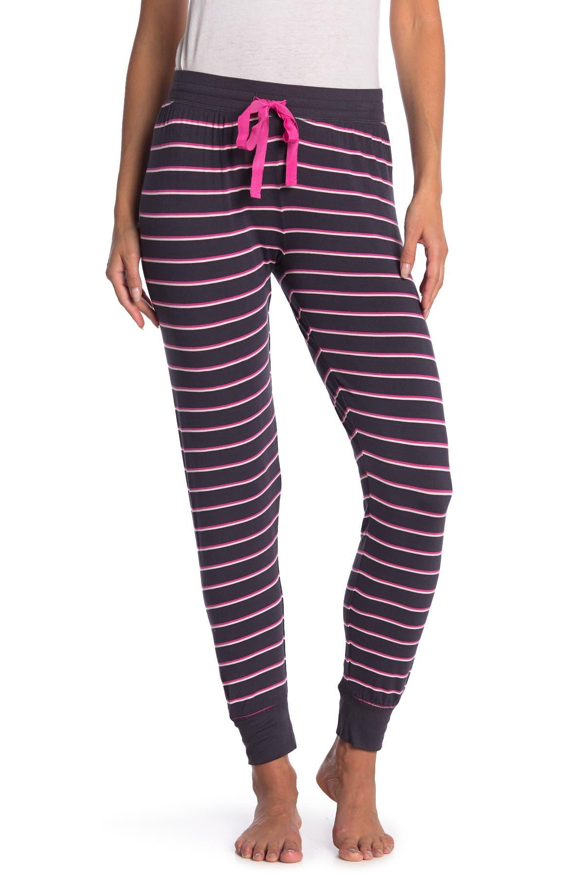 PJ SALVAGE Stripe Pajama Joggers